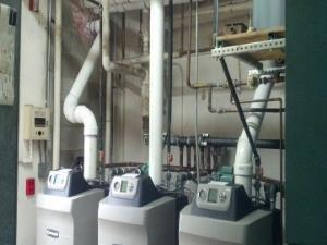 Oil To Gas Conversion of High Efficiency Weil Mclain Boilers